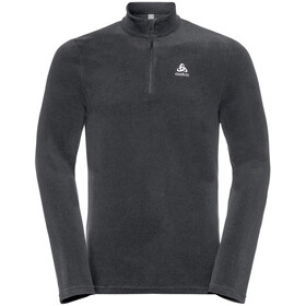 Odlo Roy 1/2 Zip Midlayer Men shale grey-black stripes